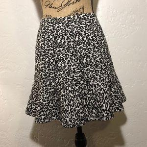Olsenboye peplum hem skirt, size 13